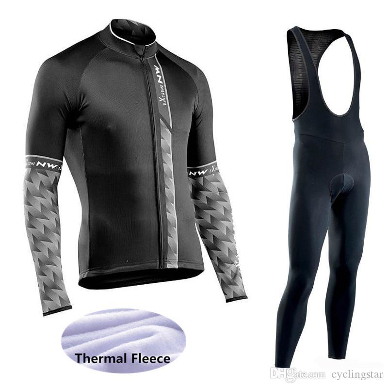 Cheji Termica Invernale Ciclismo Jersey Pantaloni da donna in pile Set Kit di ABBIGLIAMENTO CICLISMO