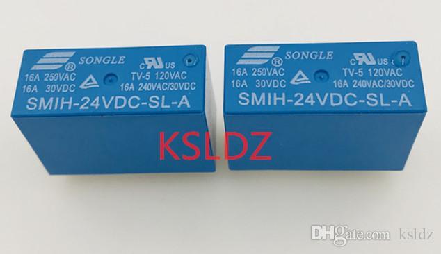 Свободная перевозка груза много (5pieces / серия) 100% первоначально новый SMIH-06VDC-SL-A SMIH-12VDC-SL-A SMIH-24VDC-SL-A SMIH-48VDC-SL-A 8pins 16A250VAC Power Relay