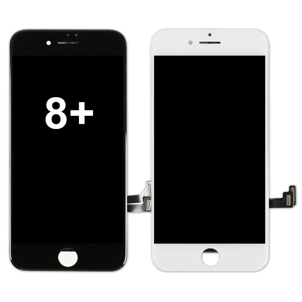 الجملة المحمول شاشة تعمل باللمس الهاتف الكريستال السائل لفون 8 زائد، وشاشة الجمعية محول الأرقام Replacementlcd لفون 8 بالإضافة إلى عرض تصنيع المعدات الأصلية