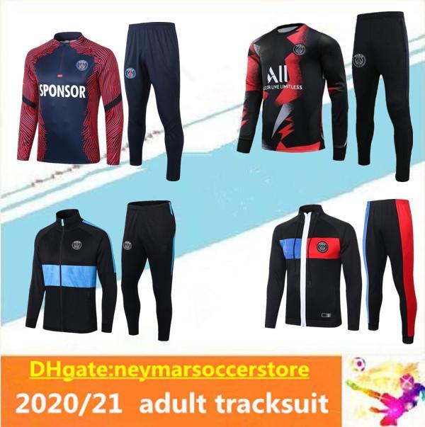 2020 2021 Jordam X PSG MBAPPE Survetement training suit 20 21 Paris football jackets POGBA soccer jogging tracksuit