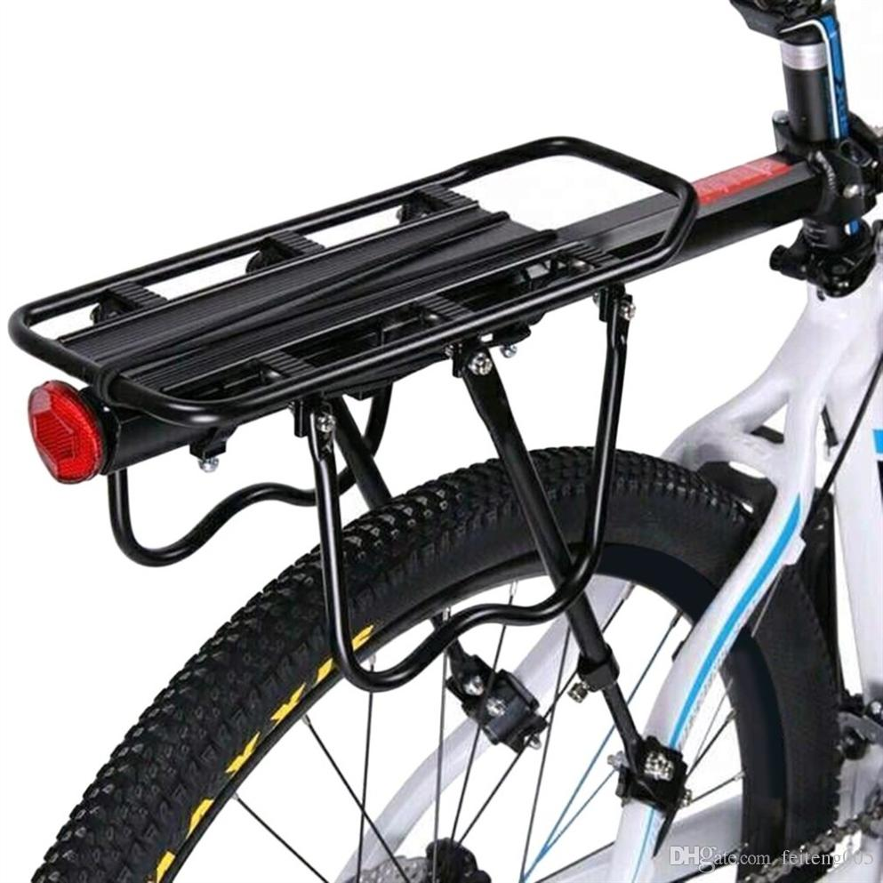 Bicycle Mountain Bike Rear Rack Seat Post Mount Pannier Luggage Carrier HOT