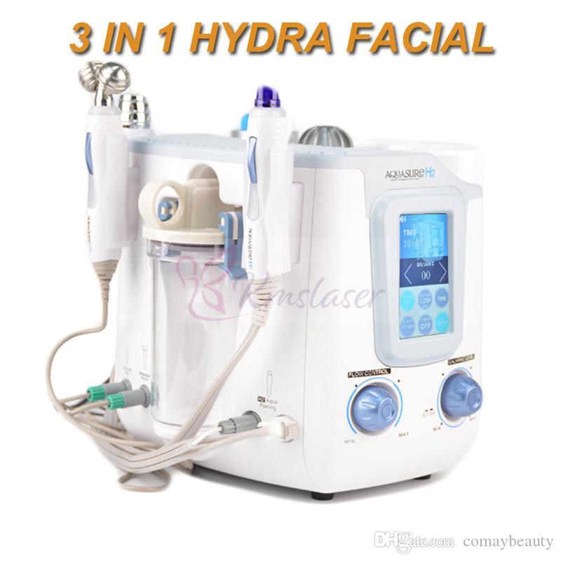 3 in1 Hydrogen Hydra SPA facial microcurrent Galvanic hydrodermabrasion skin peeling anti aging machine