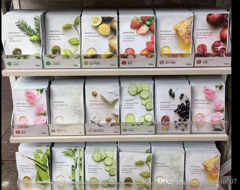 INNISFREE Squeeze Mask Sheet Moisturising Face Skin Treatment Oil-control Facial Mask Peels Skin Care Pilate