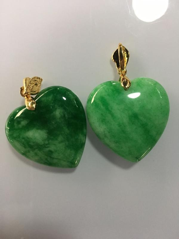 100% Natural green jade pendant necklace with 925 sterling silver heart jade necklace women pendants silver 925 jewelry