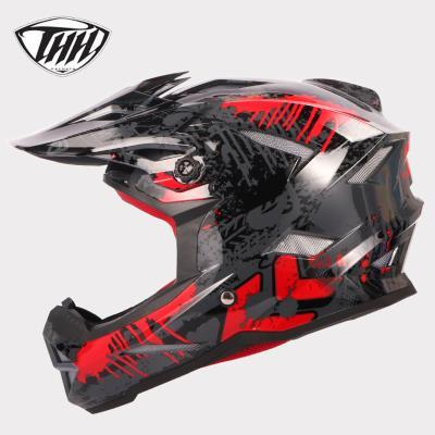 THH Motorcycle Racing Helmet Motorroad Motorbike Downhill Mountain Bike Motocross Motor Racing MX Helmets Casco Moto