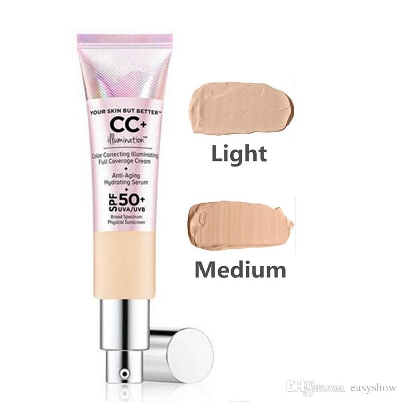 ALTA QUALITÀ! Crema CC La tua pelle ma migliore Crema CC + Crema illuminante a correzione completa del colore 32 ml DHL GRATUITO