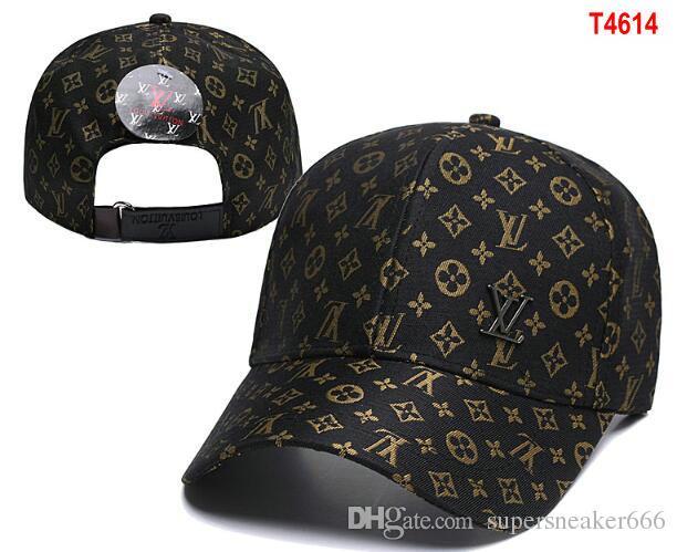أعلى بيع فاخر l v يوتن مصمم قبعة snapback القبعات قبعة بيسبول الترفيه للتعديل snapbacks القبعات casquette outdoor جولف الرياضة أبي قبعة