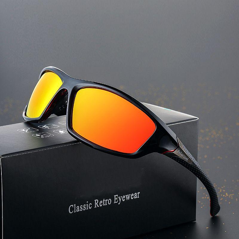 unidad de motos deportivas polarizadas Gafas unisex al aire libre UV400 gafas de sol polarizadas Gafas ciclismo equitación escalada Gafas de sol a prueba de viento