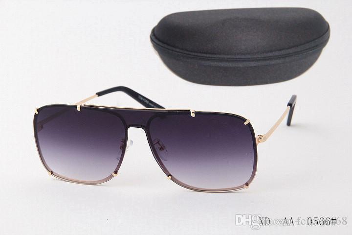 Top qualité nouvelle mode lunettes de soleil pour tom homme femme lunettes designer marque lunettes de soleil ford lentilles avec boîte 0566