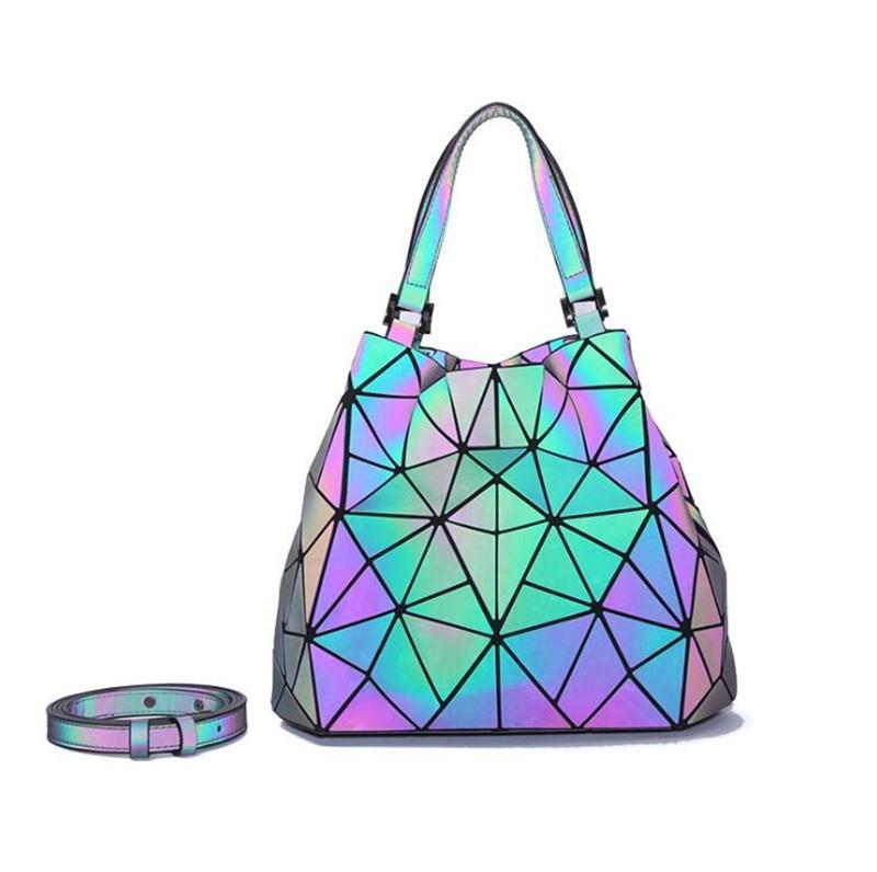 2020 Borse laser per la pelle delle donne borse di lusso borse delle donne le borse del progettista plaid nappa spalla Borsa Sac à main # 440