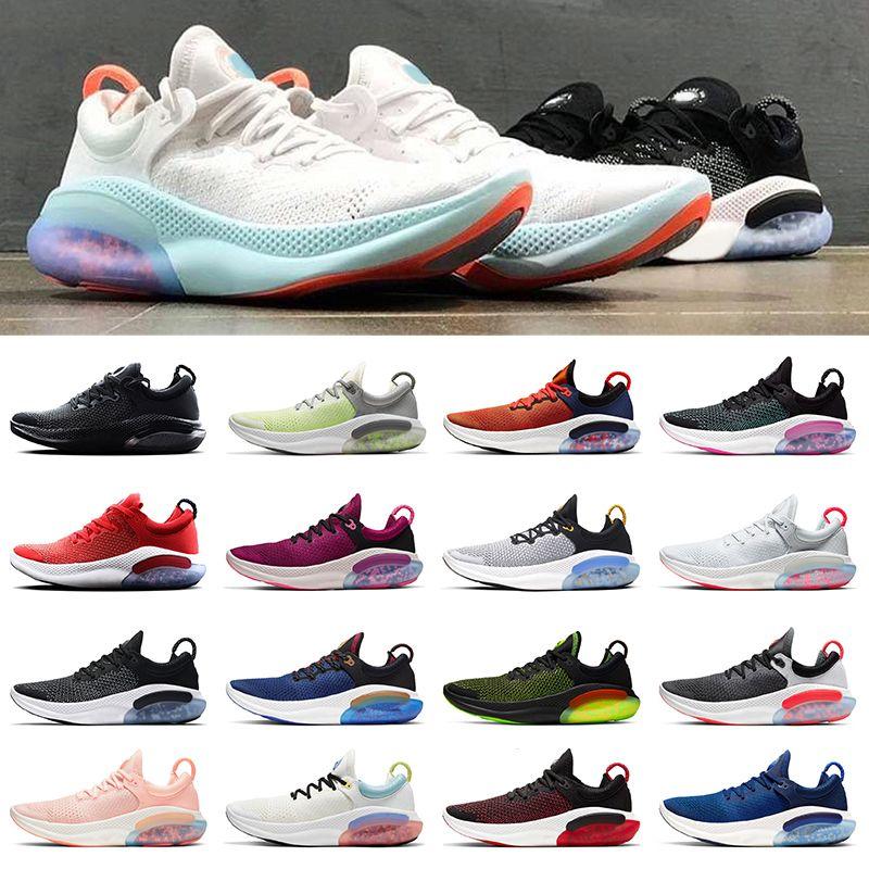 NIKE JOYRIDE RUN FLYKNITtênis para homens triplo preto branco rosa vinho mulheres sports sneakers formadores respirável moda vintage sapatos 36-44