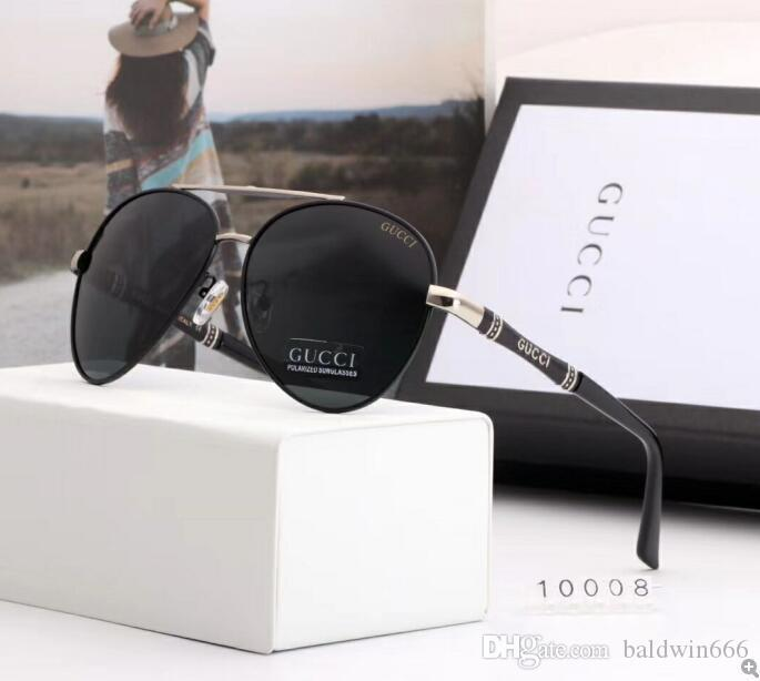 2020 Luxury Fashion Designers Large Metal Sun Glasses For Men Women Glass Lenses UV Protection Sunglasses 11