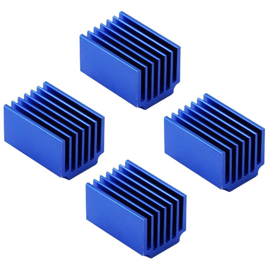 TMC2100 / LV8729 / DRV8825 Module d'entraînement Stepper Motor Driver de refroidissement du dissipateur de chaleur