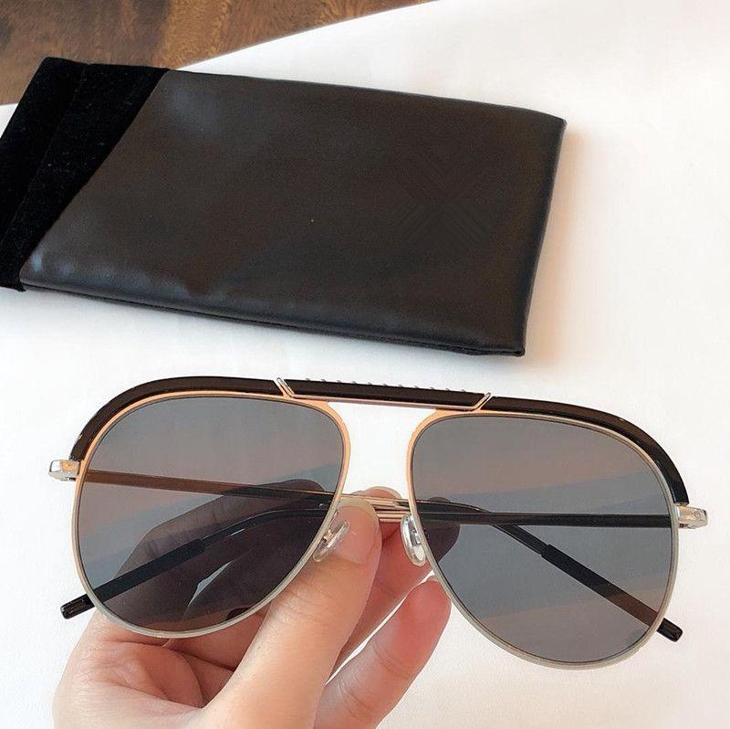 2018 nouvelle protection modèles star coréenne UV lunettes de soleil de metal féminin Mode Packaging
