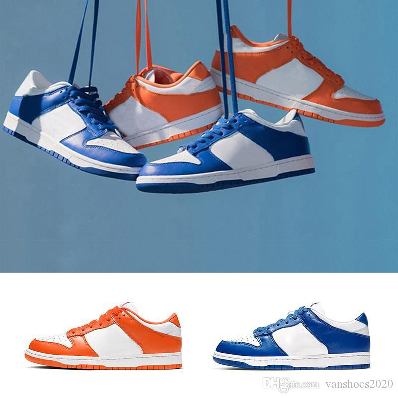 2020 DUNK LOW Fashion running shoes for men Orange Blaze Varsity Royal good quality mens trainers sports sneakers size 7-11