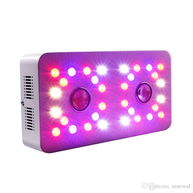 2019 1000W COB LED 가벼운 100-265V 전체 스펙트럼 이중 스위치 디 밍이 가능한 램프 실내 성장 텐트 식물 꽃