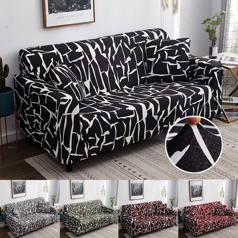 Hot Stretch Chair Sofa Covers Couch Elastic Slipcover Protector 1//2//3//4 Seat