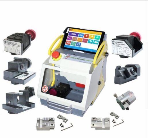 2019 Best Full Clamp SEC-E9 key cutting machine Modern Car Key Making Machine Professional Key Copy Machine with CE Approved Update Online