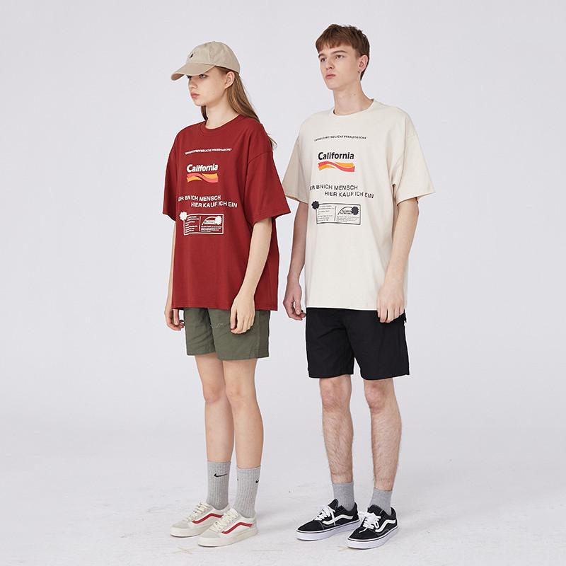 Yeni Womens Tasarımcı Tişörtler Moda Womens Yaz Tshirts Marka Kısa Kollu Harf Oversize Bahar Tshirts 2051107V yazdır