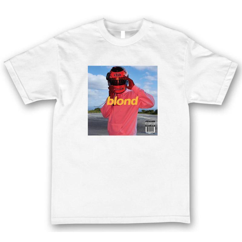 Frank Ocean Sarışın Tişörtlü Boys Cry Konseri Gece Turu Kısa Kollu Ucuz Satış Pamuk Tişört Kol Harajuku Tee Tops etmeyin