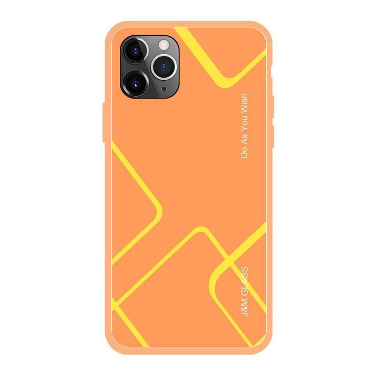 iPhone11 Pro téléphone max nouveau mobile Apple 11 résistant à la mode Shatter de boîtier de protection en verre rayé mode sans fil cas appropriés écouteurs