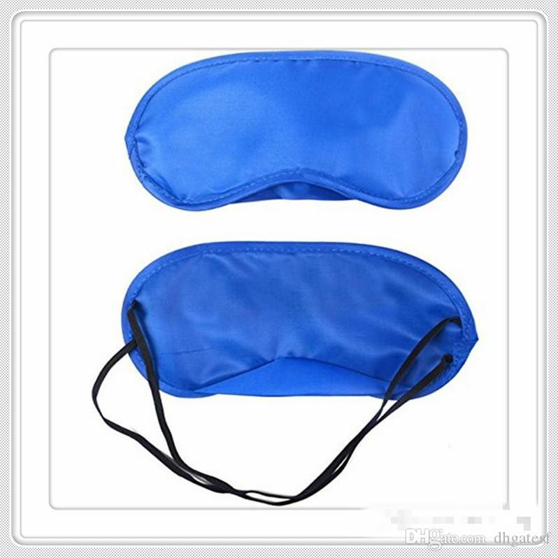 Tratamiento para el cuidado de la Salud Máscaras caliente Vision Care sueño motocicleta gafas de los vidrios del ojo Máscaras siesta de la cortina Blindfold de la cubierta de la piel del resto del recorrido