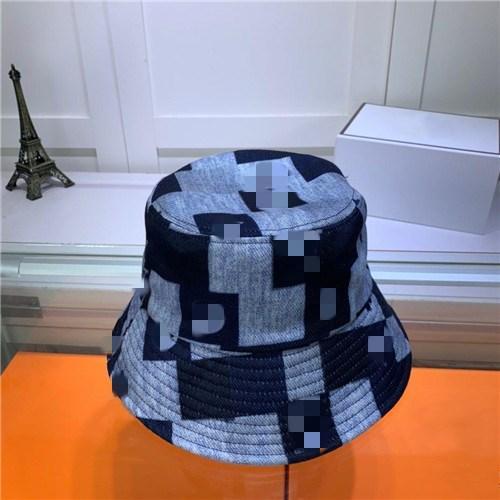 Aynı Paragraf 20070610Z ile 2020Designer Brandhat Moda balıkçı şapka Yaz Balıkçı Şapka Turist Sokak Güneşlik Serin Şapka Çiftler