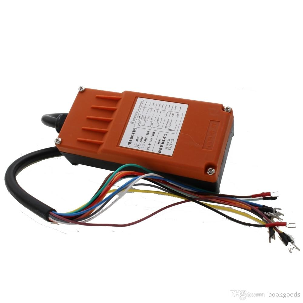 Joystick Crane Industria Radio Remote Control Wireless Transmitter/&Receiver New