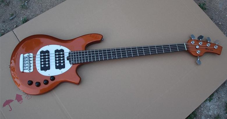 Orange Music Man Ernie Ball Bongo 5 струнных бас-9В батареи активная Pickup электрическая гитара липа тела Rosewood Гриф