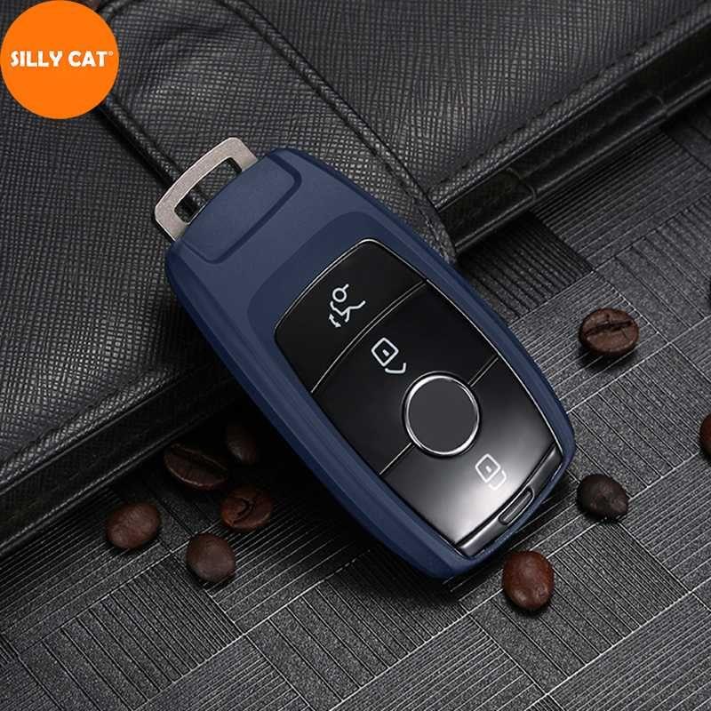 Cubierta de la llave del coche Caso Fob bolsa de Shell protector adecuado para un B G S E C Clase W205 W213 C217 W177 W247 C257 W167 W463