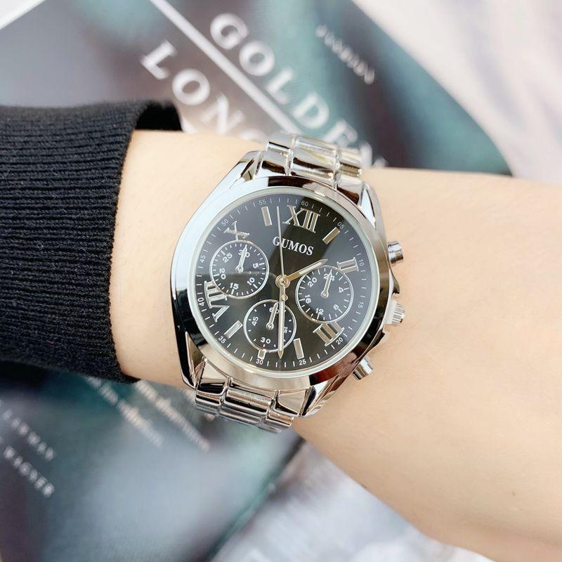 2020 أنيقة العلامة التجارية الجديدة ساعة أعلى جودة الأزياء عارضة ساعة المعصم الساعات الفاخرة اللباس سيدة ووتش الذهب اللون desinger ساعة