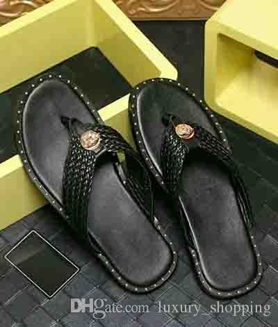 Designer de Slides Designer Sandálias Designer de Chinelos Sandálias Das Mulheres de Alta Qualidade Marca de Moda Homens Slides TAMANHO: 38-46
