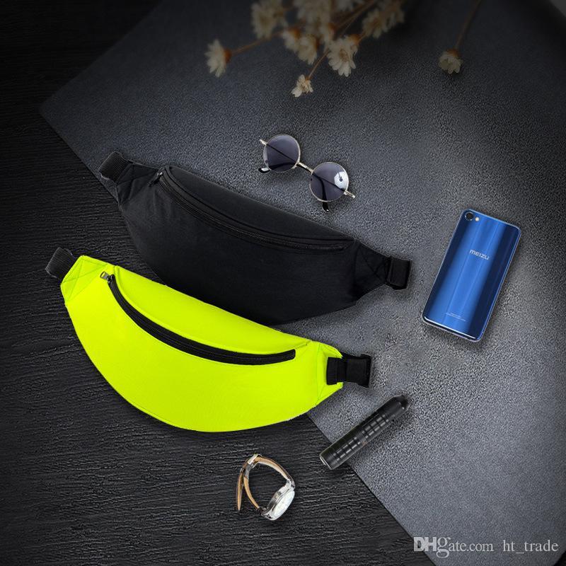 50pcs DHL Açık Fanny paketi oxford kumaş Spor çanta Running paketi Moda spor çantası bel çantası bozuk para cüzdanı