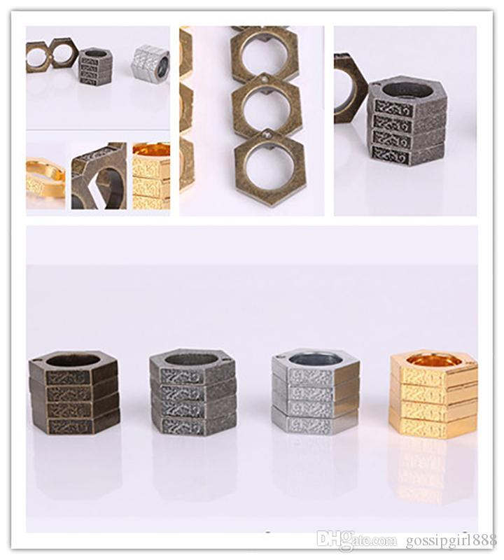 Многоцелевое деформируемое кольцо Продукты самообороны Кольцо Волшебное кольцо muay thai Кольцо самообороны Тип пряжки Относится к спасению тигра