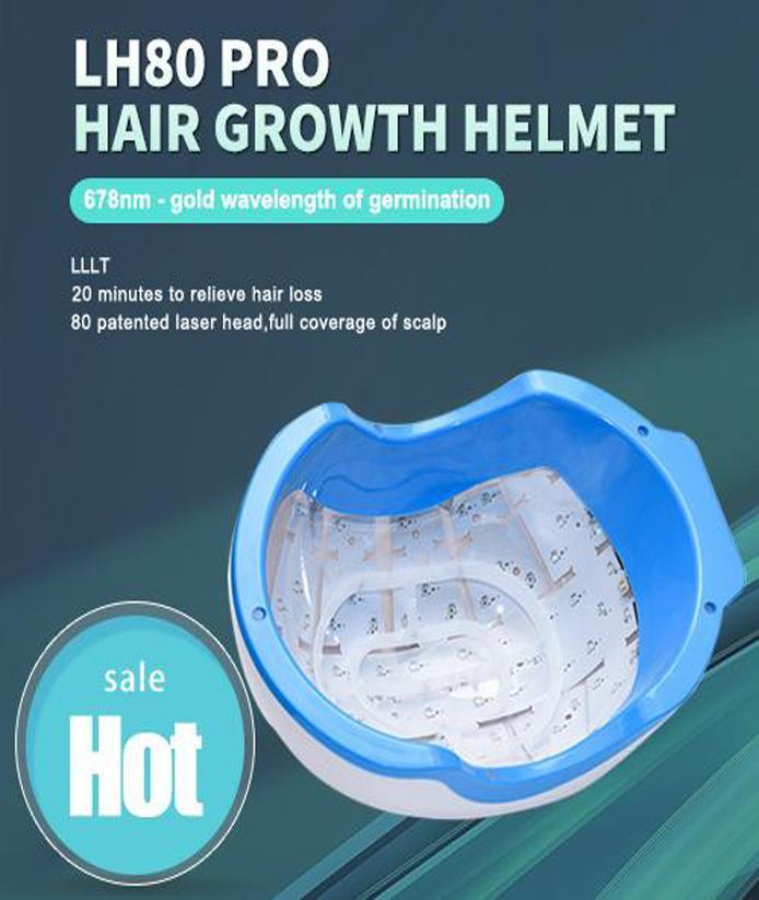 Потеря волос Regrow лазера Шлем Диоды Лечение волос Решение волос Fast Перерост Для Man LLLT Laser Cap