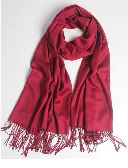 Weater Care Solid Color Of Imitation Cashmere New Style Warm Big Size Scarves Or Shall 70 * 200 sm