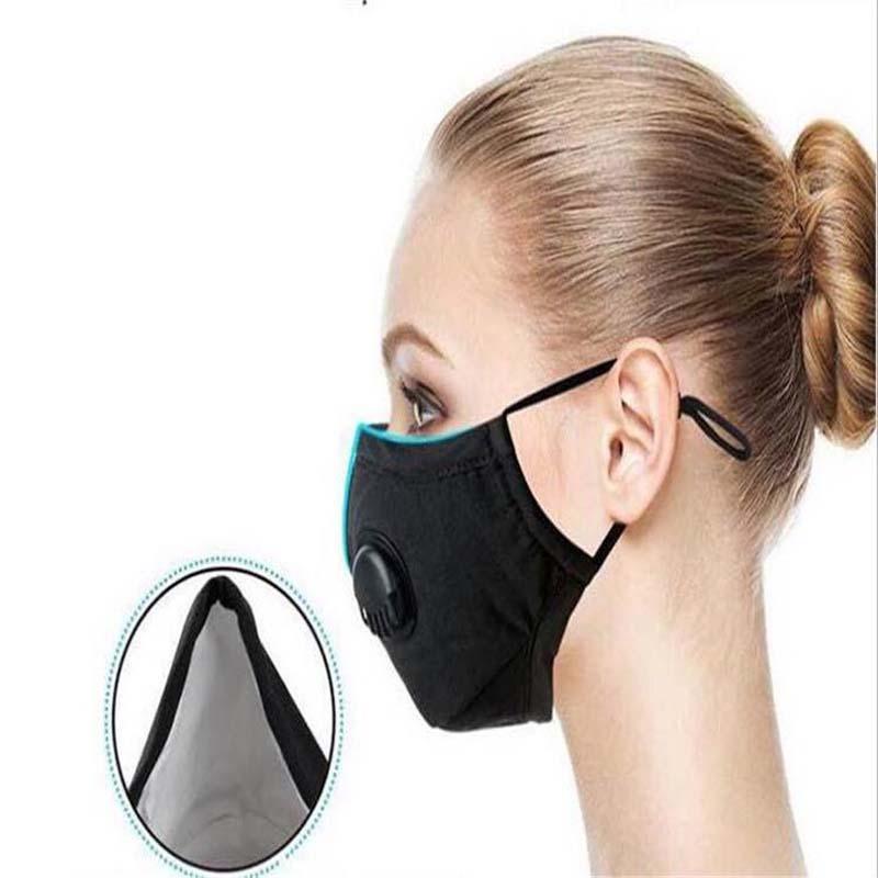 Großhandelsqualitäts-Kinder-Maske Junge Mädchen Gesichtsmasken 3-Schicht Waschbar Designer Maske Erwachsene Staubdichtes PM2.5 Earloop Masken 202013