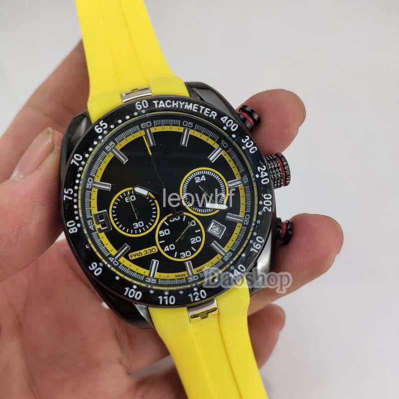 Fashion Men sport watch T048 Tony parker Limited wristwatch PRS 330 T-Sport T-Race MotoGP Rubber band Black Dial chronograph Quartz Watches