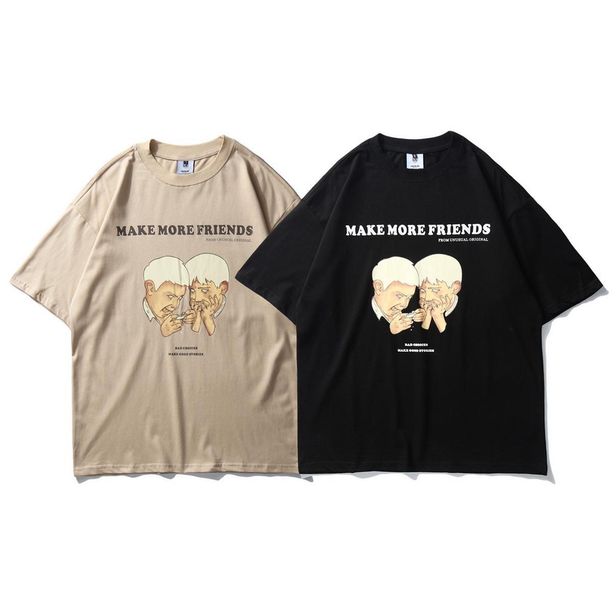 0520 designer t-shirts for women and men unisex Hip-hop style short sleeve street style couples t-shirt charming fashion novelty fashionable