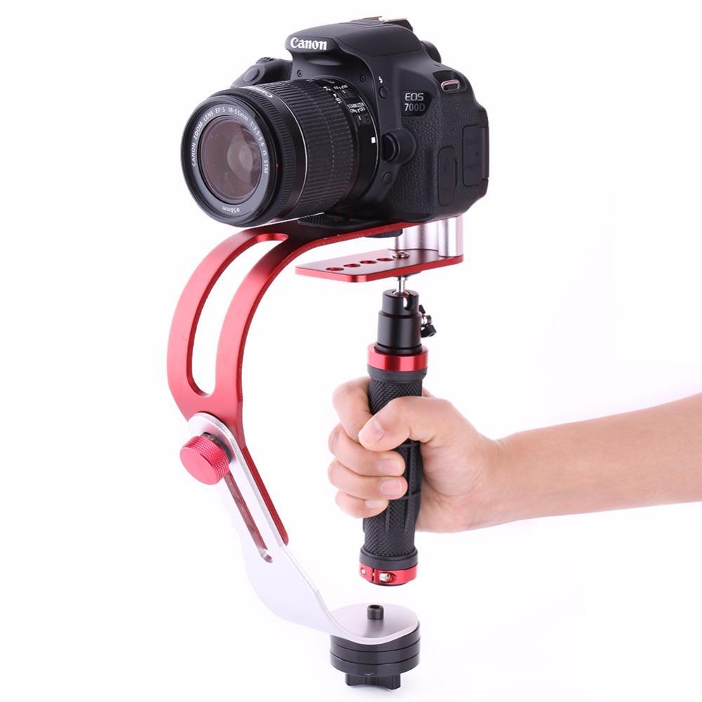 Portable stabilisateur Gimbal pour Gopro DSLR SLR appareil photo numérique DV Sport en alliage d'aluminium de l'appareil photo reflex numérique estabilizador Universal