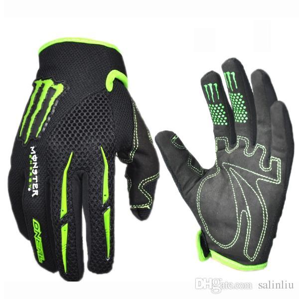 Marke mens frauen radfahren handschuhe atmungsaktiv sommer motorrad sporthandschuhe fahrrad rutschfeste fahrradfahren volle finger lange handschuhe