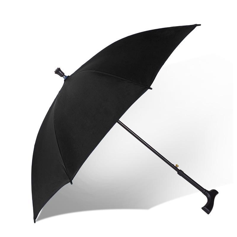 العديد من وظيفة سوبر قوي زائد الصلبة والمسنين مقبض طويل المشي عصا عدم الانزلاق تسلق الجبال المطر تلميع مظلة