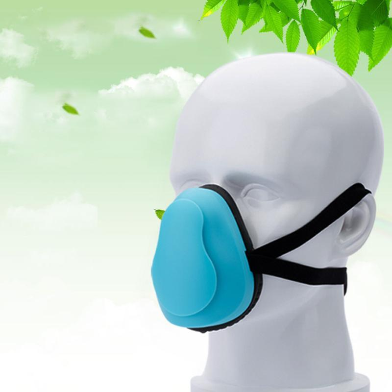 Máscaras elétrica Anti Poeira Haze Boca máscara facial do respirador Anti Influenza Respirar filtro Máscaras respirador segurança para adultos Crianças
