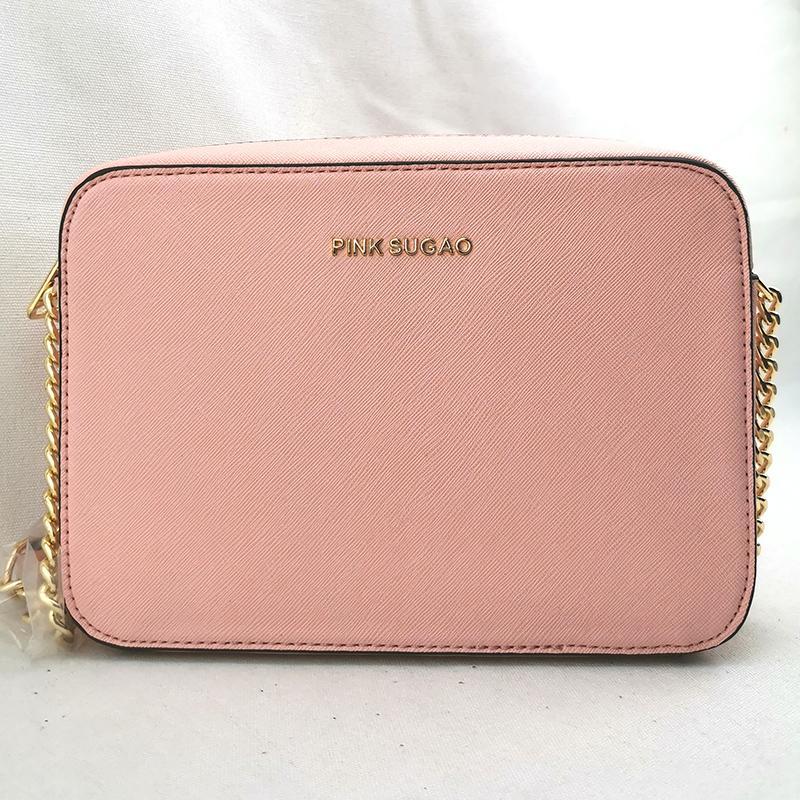 Pink sugao handbags purses womens designer crossbody bag 2020 new styles womens purses handbags pu leather high quality 8 color