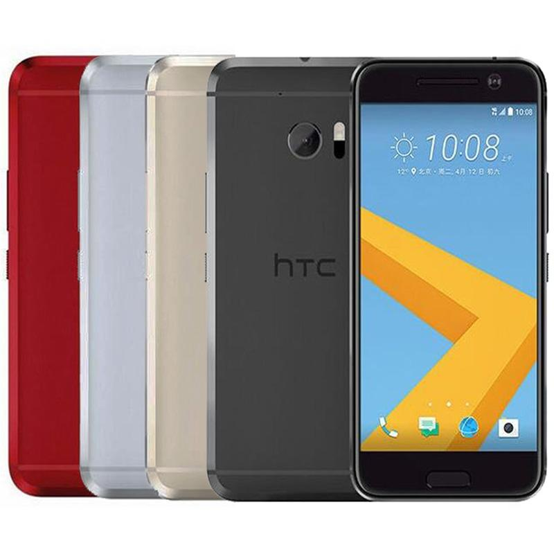 Refurbished Original HTC 10 M10 4G LTE 5.2 inch Snapdragon 820 Quad Core 4GB RAM 32GB ROM 12MP Rapid Charger Android Cell Phone DHL 1pcs
