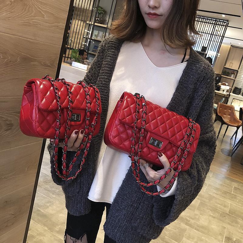 2020 sacos novos mulheres sacos crossbody pu couro bolsas de moda diamante estrutura estilo elegante cadeia de retro
