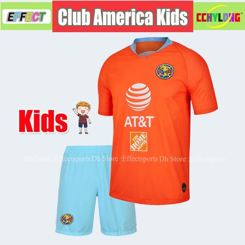 huge discount 45f09 e379a 2019 New 2018/2019 LIGA MX Kids Kit CHIVAS Guadalajara Club America UNAM  Soccer Jerseys Child Youth Boys 18/19 Football Shirts From Effectsports, ...