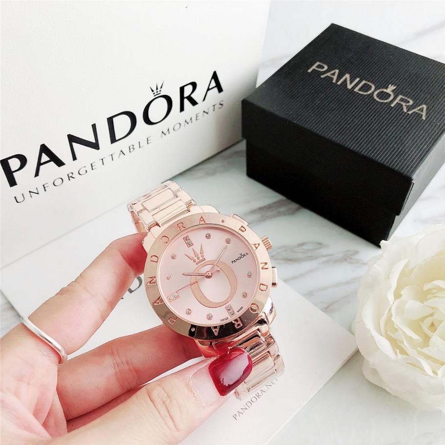 2019 New Fashion Mens Watch Rose Gold Stainless Steel Pandora ...