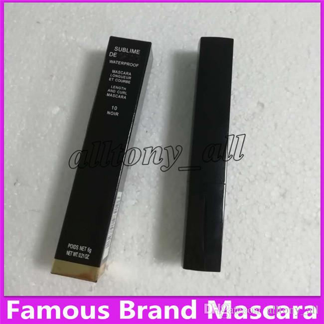 FREE SHIPPING MAKEUP 2019 Lowest Best-Selling good sale Newest Products liquid MASCARA 6g black good quality