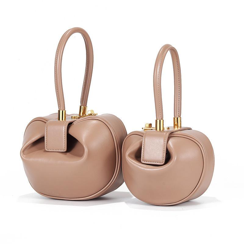 Lucky2019 Bag Year Genuine Leather France Niche Design Portable Dumplings Wonton Woman Package